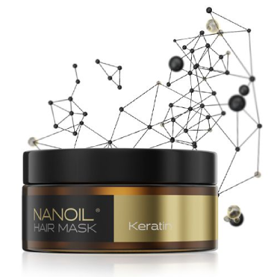 Keratinhårmaske fra Nanoil